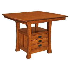 Arts Crafts Cabinet Table West Point