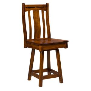 Boulder Creek Swivel Bar Stool Artisan Chairs