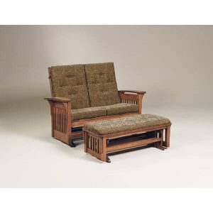 BowArmSlatLovGlide AJs Furniture