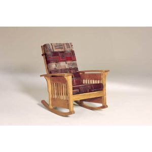 BowArmSlatRocker AJs Furniture