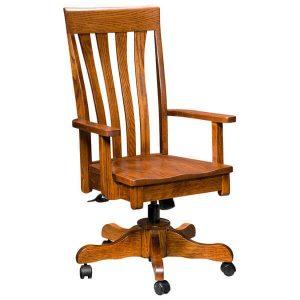 Canterbury Desk Chair Artisan Chairs