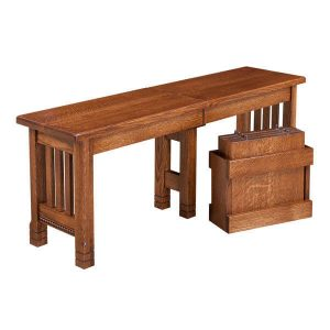 Country Heirloom Bench Closed