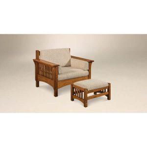 Pioneer Chair Footstool AJs Furniture