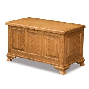 Triple Raised Cedar Chest AJW70938 A J Woodworking