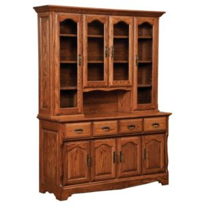 Colonial Open Hutch