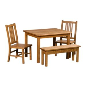 Mission Children s Table and Chairs