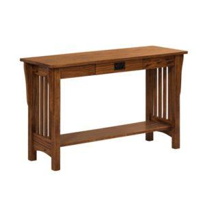 Mission Slat Sofa Table
