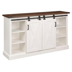 Ouray TV Cabinet Open